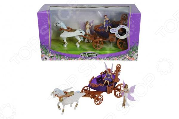 Набор игровой Simba «Лошадка с каретой и фигурками» 4418530