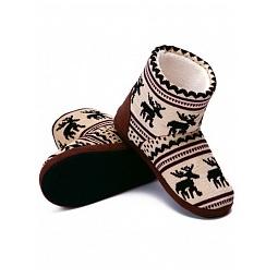 Купить Тапочки-угги домашние Burlesco H71