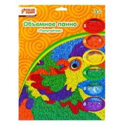 фото Набор для детского творчества Color Puppy «Объемное панно. Попугайчик»