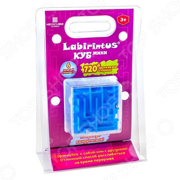 Головоломка Labirintus «Куб» LBC0003Головоломки<br>Головоломка Labirintus Куб LBC0003 интересный предмет для развлечения и общего развития. Вашему ребенку придется решить головоломку используя смекалку и находчивость. Задача заключается в том, чтобы провезти металлический шарик через большой лабиринт, путем вращения в руках. Хождение по лабиринту очень затягивает, поэтому отличное времяпрепровождение гарантировано. Такие головоломки способствуют развитию логических навыков, умения использовать форму предмета, умению решать поставленные задачи, а также тренируется наблюдательность и мышление. Рекомендуется детям от 6-ти лет.<br>