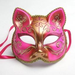 фото Полумаска карнавальная Феникс-Презент «Кошечка» 34648