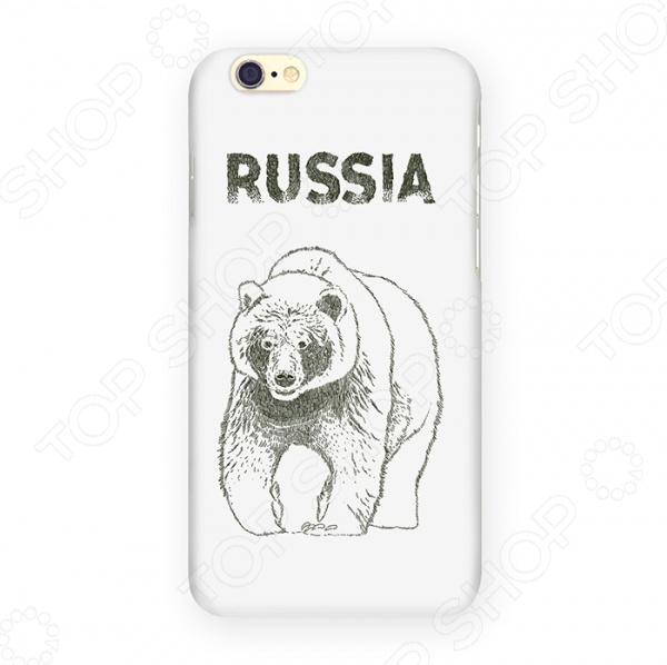 Чехол для iPhone 6 Mitya Veselkov «Медведь» чехол для iphone 6 mitya veselkov мозаика