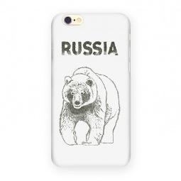 фото Чехол для iPhone 6 Mitya Veselkov «Медведь»