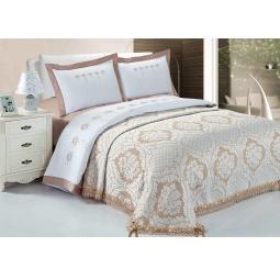 фото Комплект постельного белья с покрывалом Softline 09653. Евро