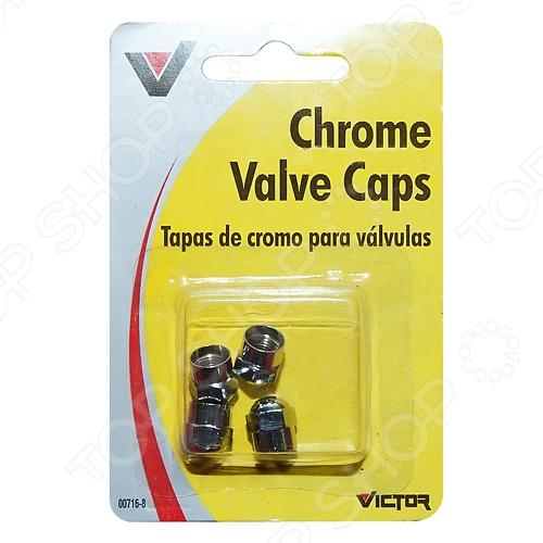 Колпачки на вентиль шины Victor V716 запонка victor mayer золотые запонки с бриллиантами и эмалью v1256bw