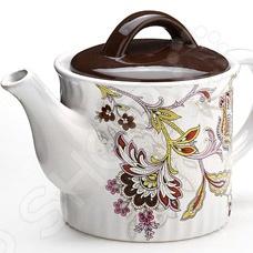 Чайник заварочный Loraine LR-24851 чайник заварочный loraine lr 23768 0 7л белый с рисунком ромашки