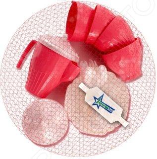 Игровой набор для девочки Нордпласт «Чайный сервиз. Волшебная хозяюшка» нордпласт игрушечный набор посуды кухонный сервиз волшебная хозяюшка цвет голубой зеленый
