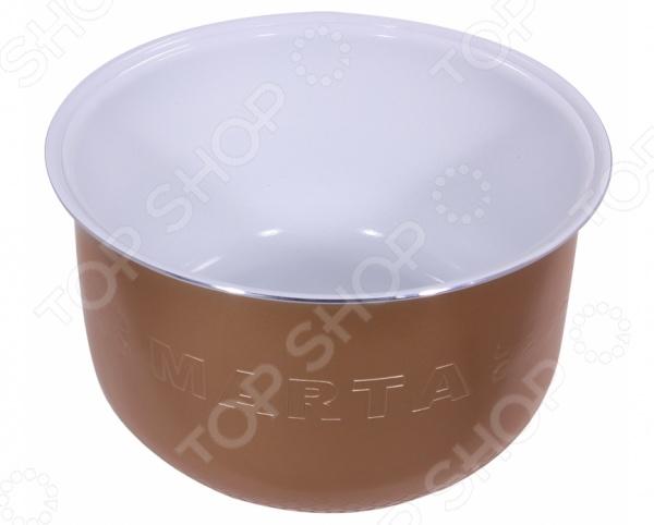 Чаша для мультиварки Marta MT-MC3121 steba as 5 сменная чаша для мультиварки dd 2 xl 6л