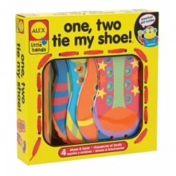 Купить Игрушка-шнуровка ALEX «Раз, два зашнуруй меня!»