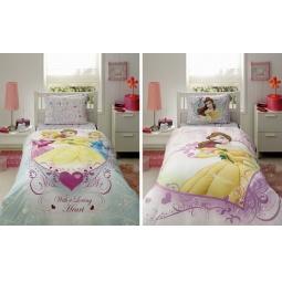фото Детский комплект постельного белья TAC Princess Belle heart