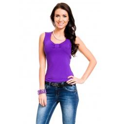 фото Майка Mondigo 387. Цвет: фиолетовый. Размер одежды: 44