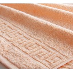 фото Полотенце махровое Asgabat Dokma Toplumy. Размер: 100х180 см. Цвет: персиковый