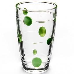 фото Набор стаканов Loraine Spots. Рисунок: зеленый горох