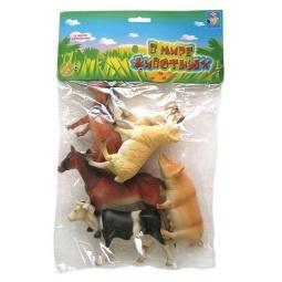 Купить Набор животных с фермы 1 TOY Т50554