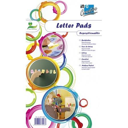 Купить Самоклеящиеся буквы Info Notes 8715-08