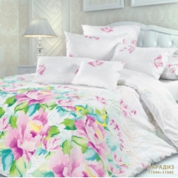фото Комплект постельного белья Унисон 297242 «Парадиз». Евро
