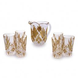 Набор: кувшин и 6 стаканов Rosenberg 1421