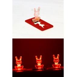 фото Свеча светодиодная карманная Drivemotion «Кролик». В ассортименте