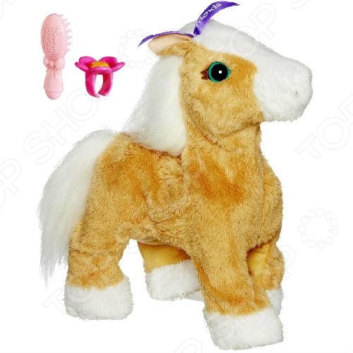 фото Игрушка интерактивная мягкая Hasbro Пони-Очаровашка, Мягкие интерактивные игрушки