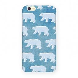 фото Чехол для iPhone 6 Mitya Veselkov «Северные мишки»