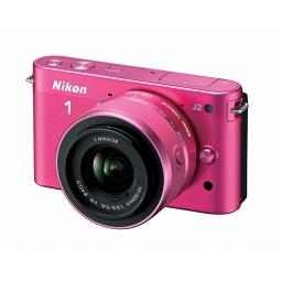 фото Фотокамера цифровая Nikon 1J2. Цвет: розовый