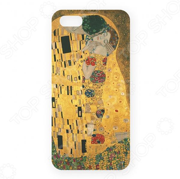 Чехол для iPhone 5 Mitya Veselkov «Поцелуй Климта» часы поцелуй климта mitya veselkov часы поцелуй климта
