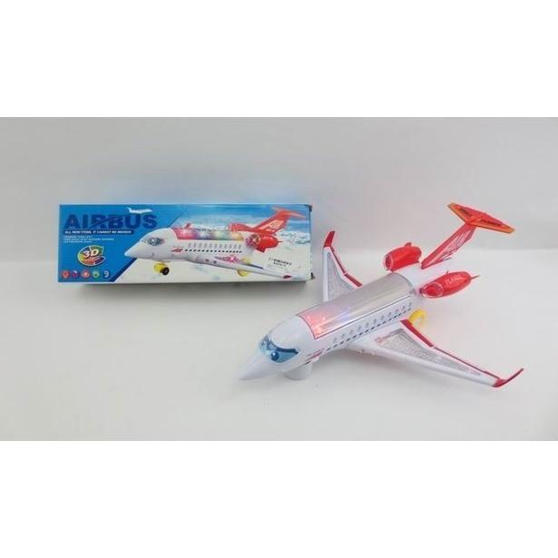 фото Самолет игрушечный со световыми эффектами Airbus 1707149