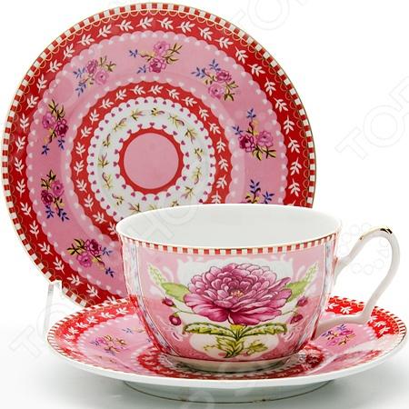 Чайная пара Loraine LR-24584 «Розы»