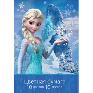 Купить Набор бумаги цветной Росмэн «Холодное сердце» 26748