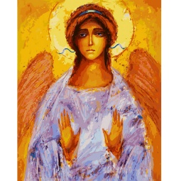 фото Набор для раскрашивания по номерам Белоснежка «Ангел»
