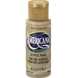 фото Краска акриловая DecoArt Премиум Americana. Цвет: хаки