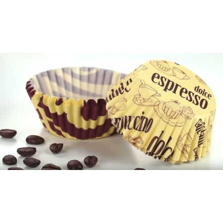 Купить Набор форм для выпечки кексов «Кофе» Tescoma Delicia