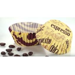 фото Набор форм для выпечки кексов «Кофе» Tescoma Delicia. Диаметр: 4 см. Количество форм: 100