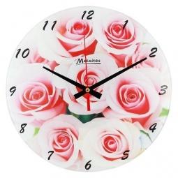 фото Часы настенные Marmiton «Букет роз»