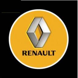 фото Светодиодные проекторы Courtesy door ligh логотипа автомобиля Renault