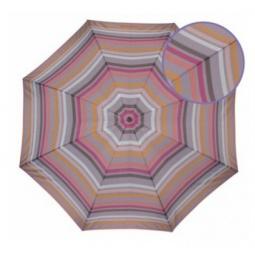 фото Зонт Isotoner 09249. Рисунок: полосатый абрикос