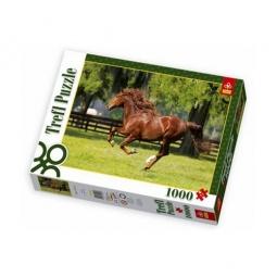Купить Пазл 1000 элементов Trefl «Мчатся кони»