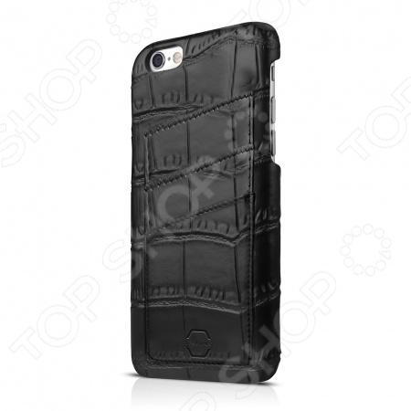 Чехол для iPhone 6 Plus ITSKINS Corsa-BLK1Защитные чехлы для iPhone<br>Чехол для iPhone 6 Plus ITSKINS Corsa-BLK1 аксессуар для защиты корпуса вашего смартфона. Такие дорогие модели нужно хорошо оберегать, поэтому чехол просто необходим в любых условиях. Это полезная и красивая вещь, которая подчеркнет вашу исключительную индивидуальность как на деловой встрече, так и на вечеринке с друзьями или романтическом свидании. Отлично подходит по размерам гаджета, практически не влияя на его вес и не затрудняя доступ ко всем его функциям. Предоставляет отличную защиту от царапин, механических повреждений и нежелательных потертостей.<br>