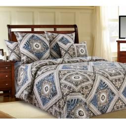 фото Комплект постельного белья Белиссимо «Премьер». 2-спальный. Цвет: серый