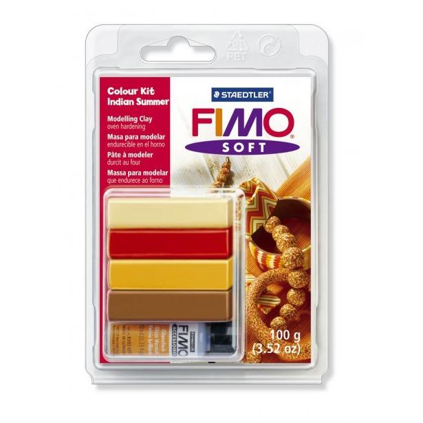 фото Набор для создания украшений Fimo Soft «Бабье лето»