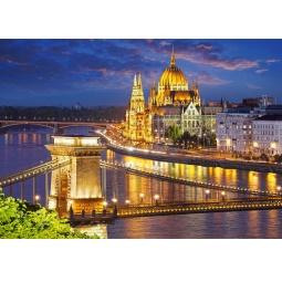 Купить Пазл 2000 элементов Castorland «Будапешт в сумерках»
