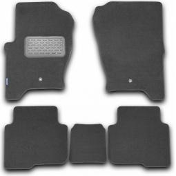Комплект ковриков в салон автомобиля Novline-Autofamily Citroen C5 2008. Цвет: черный - фото 5