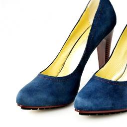 фото Туфли на высоком каблуке Marcello Di Nuove синие. Размер: 37