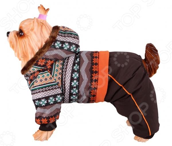 Комбинезон для собак DEZZIE 563571 триол комбинезон зимний микки для собак trio l