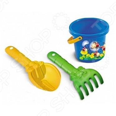 Набор для игры в песочнице Нордпласт №75Песочницы. Игрушки для песочницы<br>Набор для игры в песочнице Нордпласт 75 это увлекательный набор, который точно понравится вашим детям, ведь все дети любят играть в песочнице, а с этими игрушками этот процесс станет еще интереснее. На ведерке изображены веселые картинки. В комплекте есть ведёрко, с помощью которого можно делать формочки из песка. Все элементы набора выполнены из пластика высочайшего качества, прочного и аккуратно обработанного.<br>