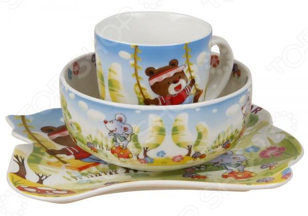 Набор посуды для детей Rosenberg 8784 rosenberg набор детской посуды 8786