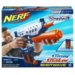 фото Оружие игрушечное Hasbro Водяной бластер Супер Соакер Шот Вэйв