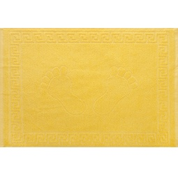 фото Полотенце махровое Asgabat Dokma Toplumy «Ножки». Размер: 50х70 см. Цвет: желтый