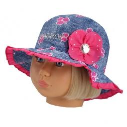 Купить Панама детская Shapochka Jeans. Цвет: розовый