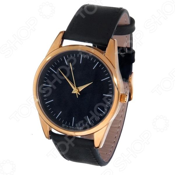 Часы наручные Mitya Veselkov «Классика» GoldЖенские наручные часы<br>Не секрет, что правильно подобранные аксессуары вершат весь образ, добавляют ему законченности и помогают грамотно расставить цветовые акценты. Наручные часы же являются не просто стильным украшением, но и весьма функциональным аксессуаром. Именно поэтому, наряду с оригинальным дизайном и влиянием модных тенденций, при их выборе важно учитывать вид часового механизма и качество используемых материалов. Часы наручные Mitya Veselkov Классика Gold станут отличным дополнением к набору ваших аксессуаров. Модель отличается стильным дизайном и прекрасным качеством исполнения, хорошо сочетается с классическими нарядами и изящными украшениями. Корпус часов выполнен из минерального стекла и сплава металлов. Ремешок изготовлен из натуральной кожи, застежка классическая. Механизм часов кварцевый Citizen Япония .<br>